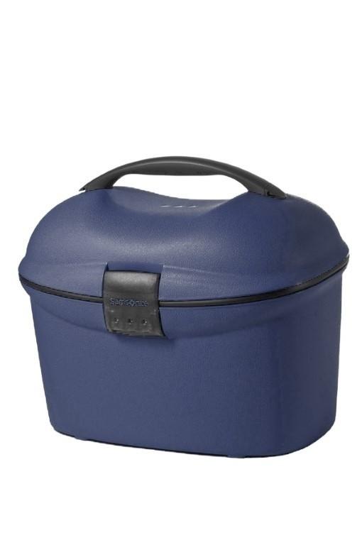 Samsonite Cabin Collection Beauty Case/Strap Dark Blue