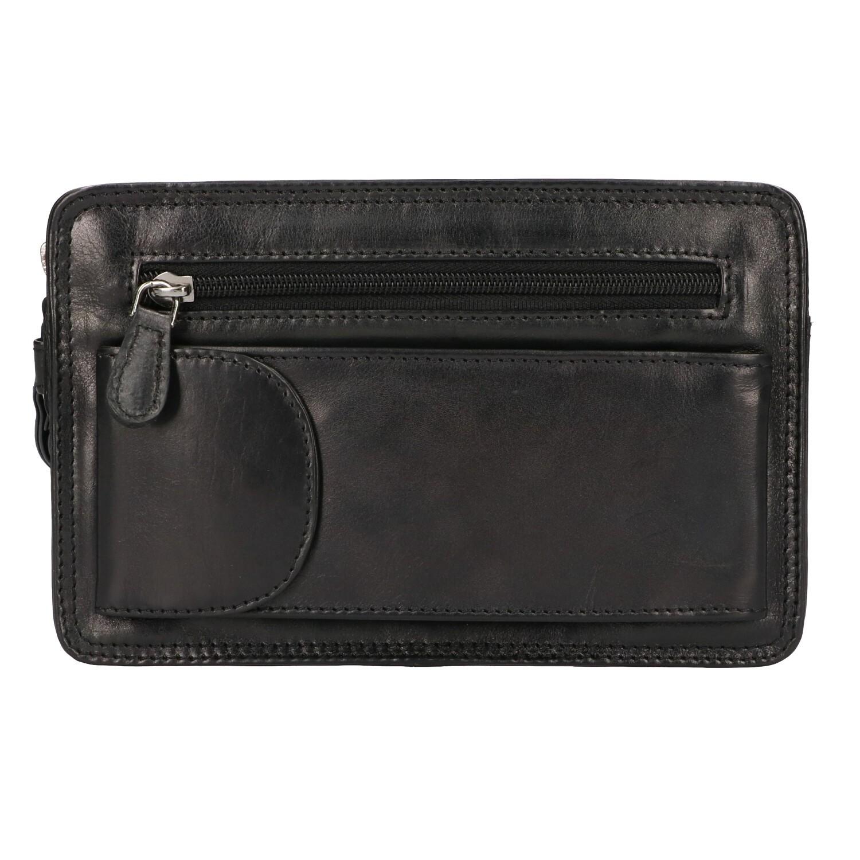 Leather Design Polstas Dubbel CC 1337 A Zwart