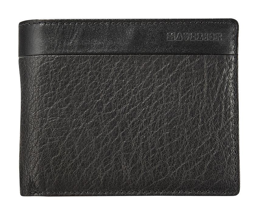 Maverick Texas Billfold RFID Zwart