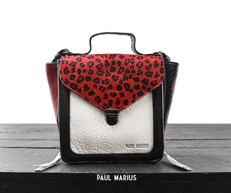 Paul Marius Mistinguette Leopard Black/Red