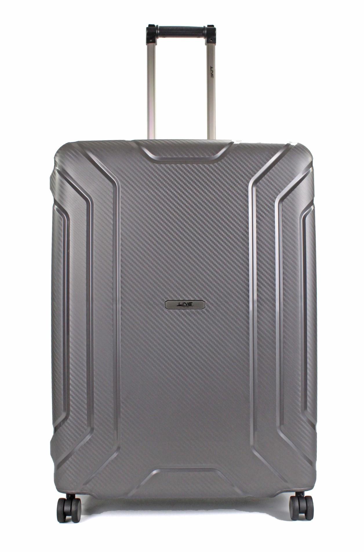 Line Travel Hoxton Spinner 64 cm Dark Grey Metallic