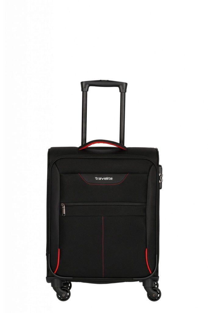 Travelite Sunny Bay 4 Wiel Trolley S Handbagage 091847 Zwart