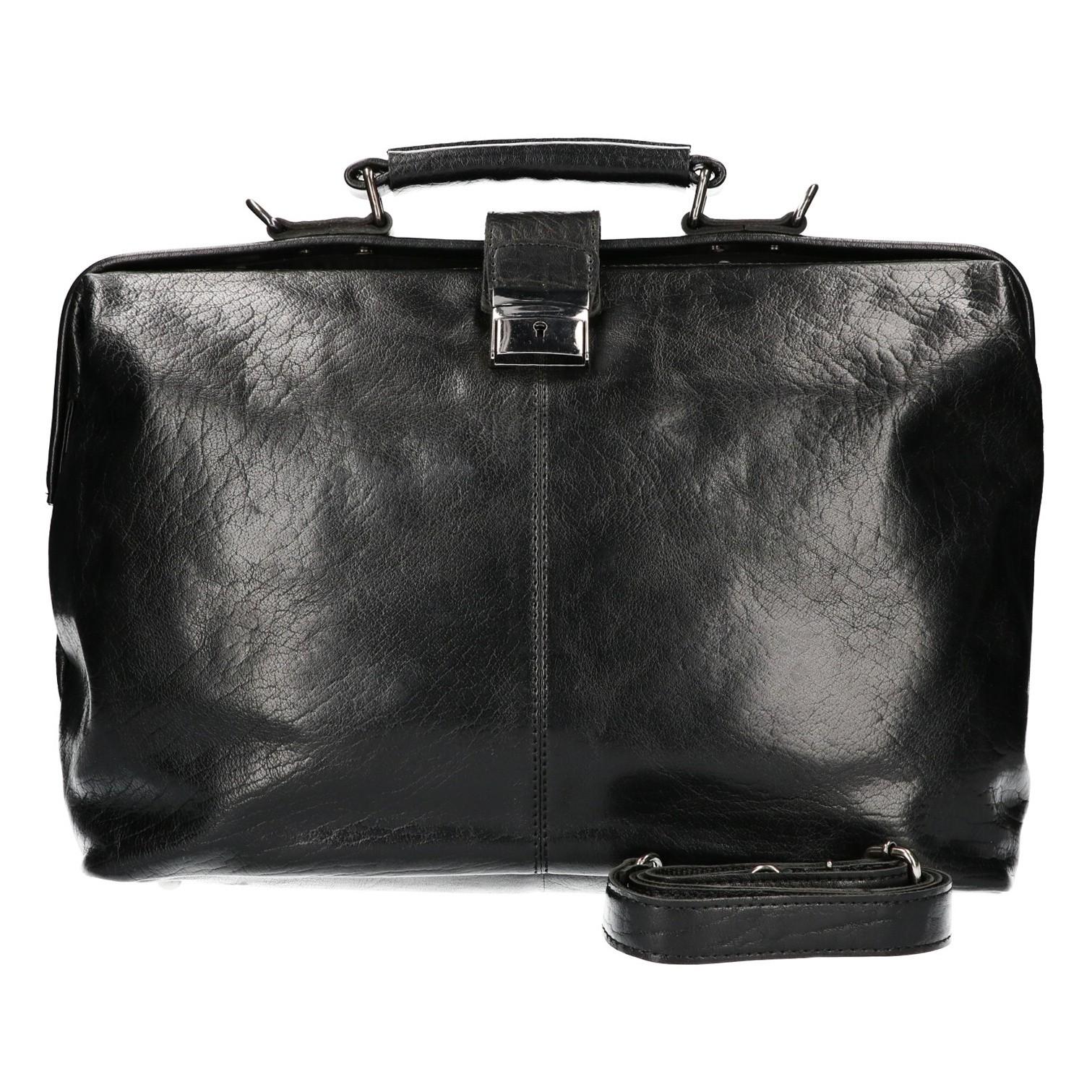 Leather Design Dokterstas IS 502 Zwart