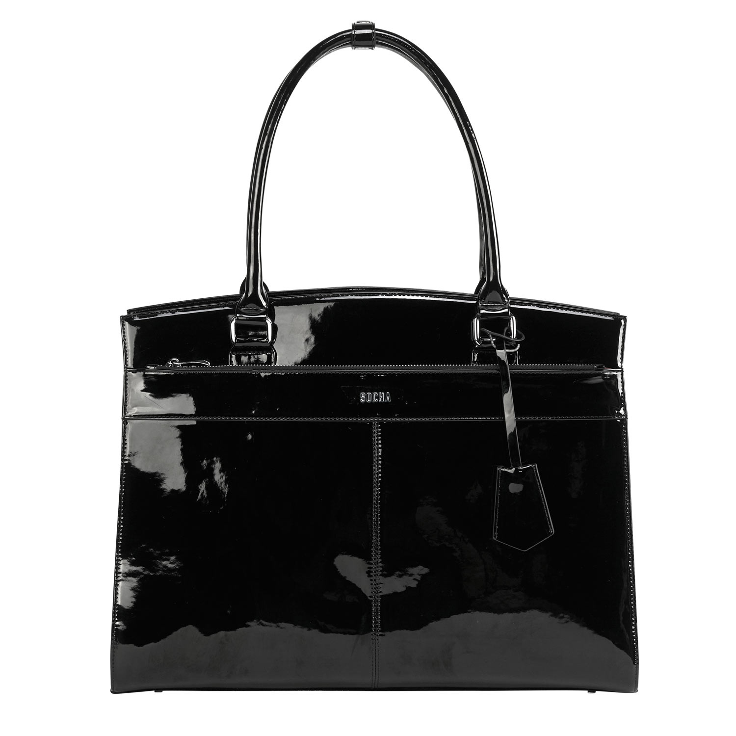 Socha Businessbag Iconic Mirror Black 15,6