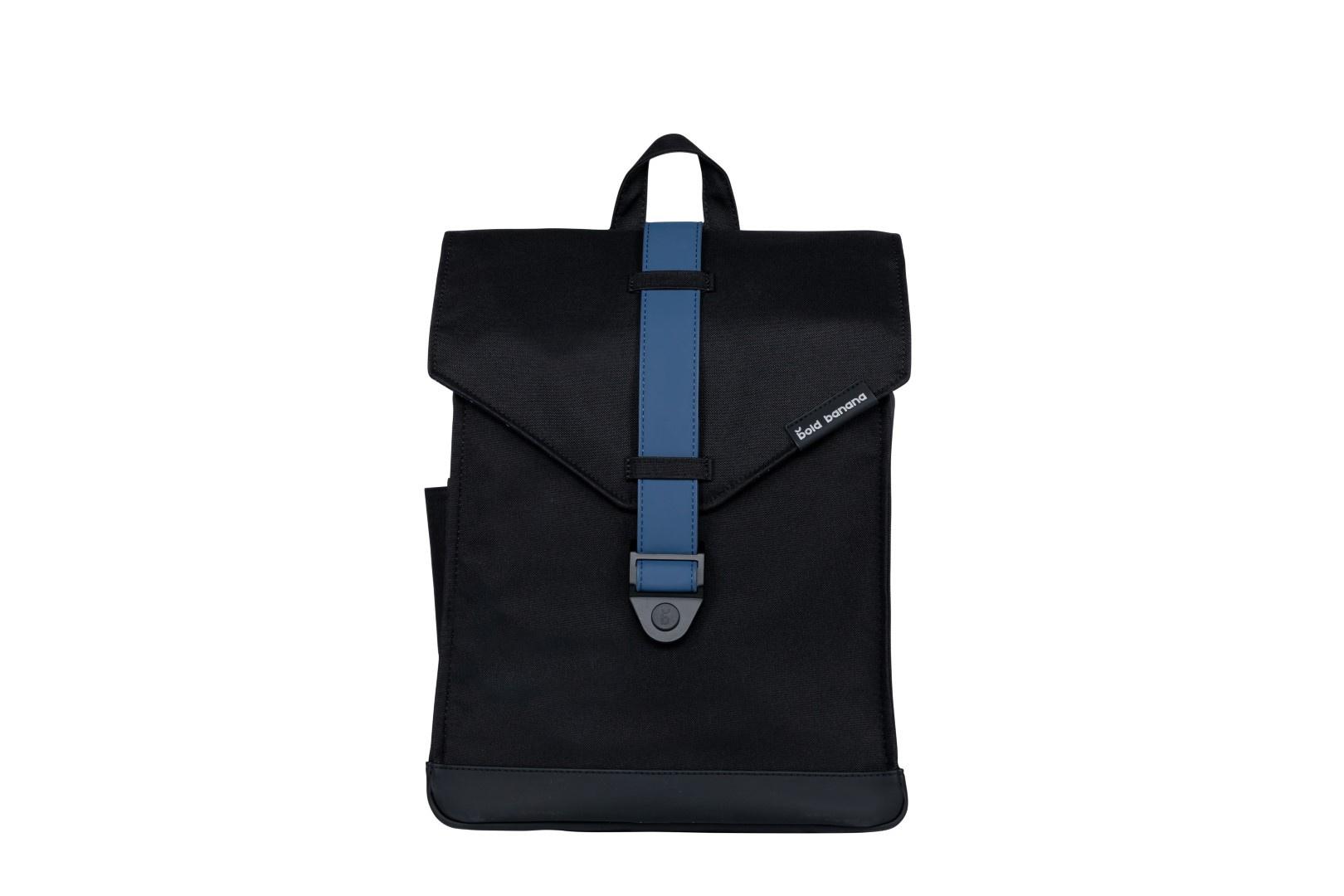 Bold Banana Laptop Backpack Black Ocean