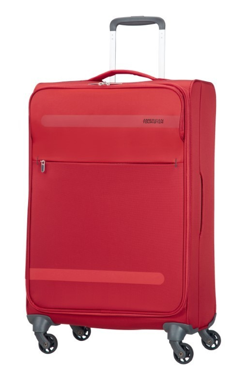 American Tourister Herolite Super Light Spin. 67cm Formula Red