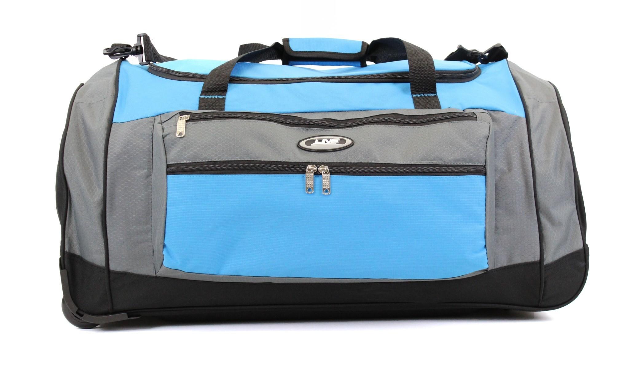 Line Travel Daley Wieltas Grey/Blue