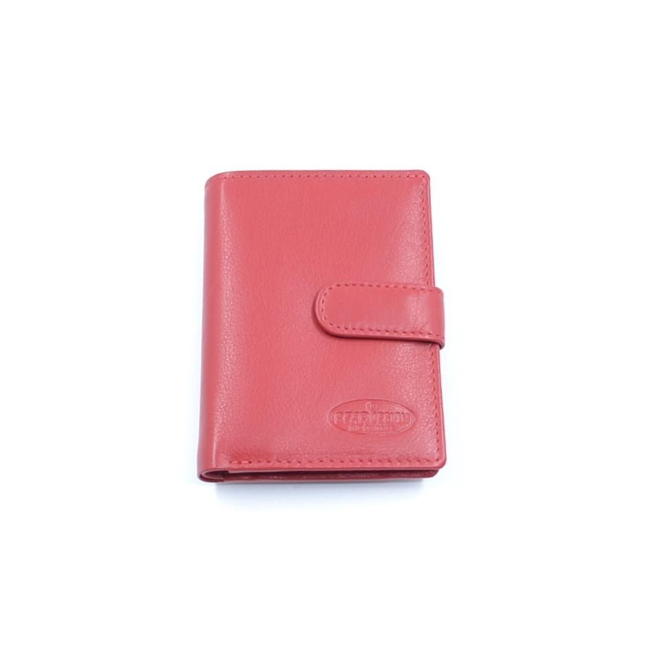Bear Design Basic Creditcard-etui FR527 Rood