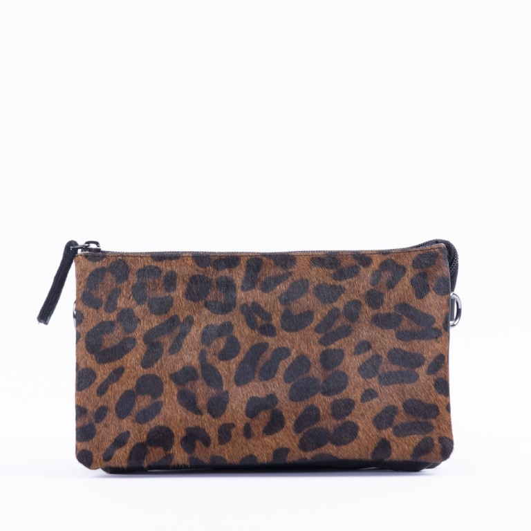 DSTRCT Dames Crossbody 157890 Black Dark Leopard