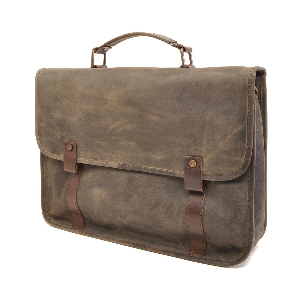 Barbarossa Ruvido 826-141 Briefcase Military