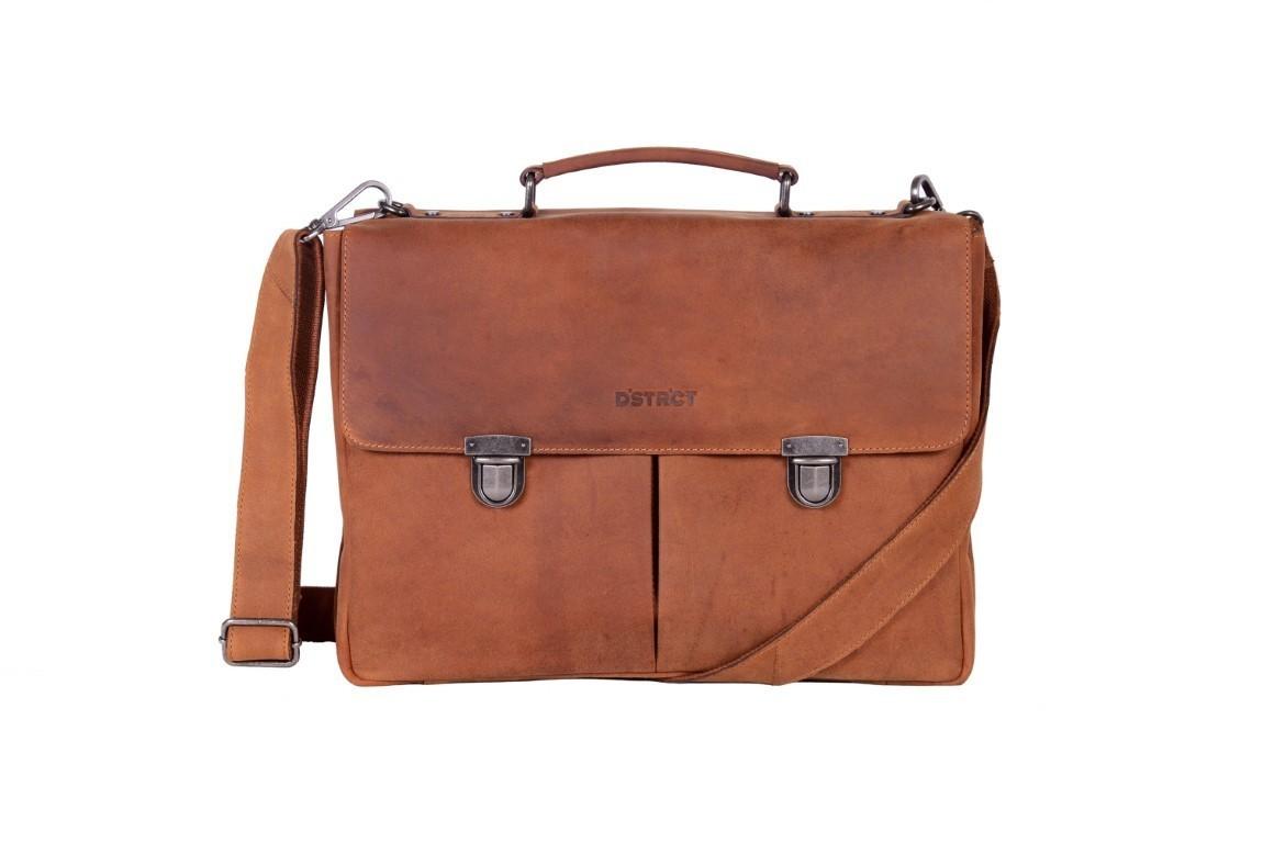 DSTRCT Business Bag 076220 Cognac