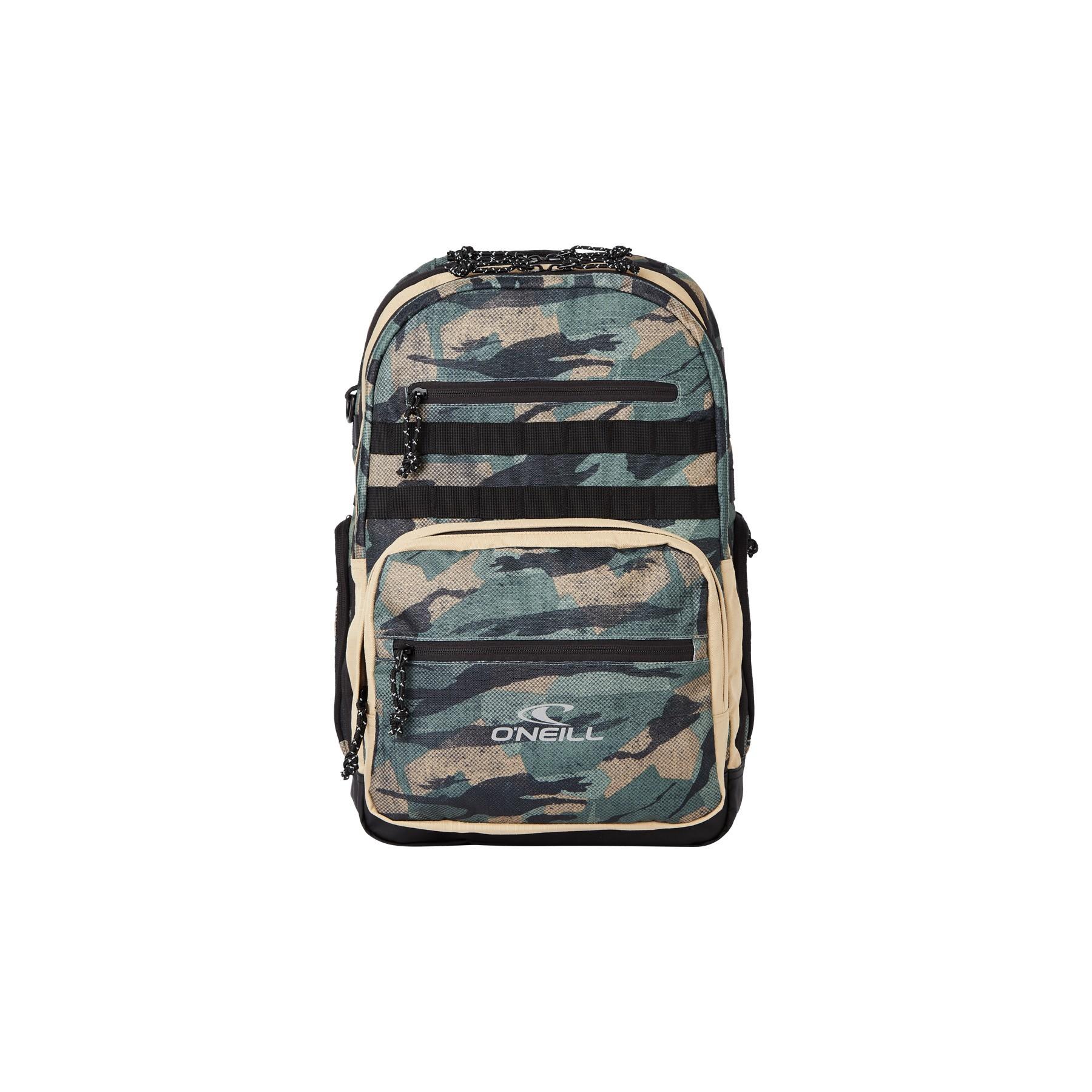 O'Neill President Backpack 6990 Green AOP