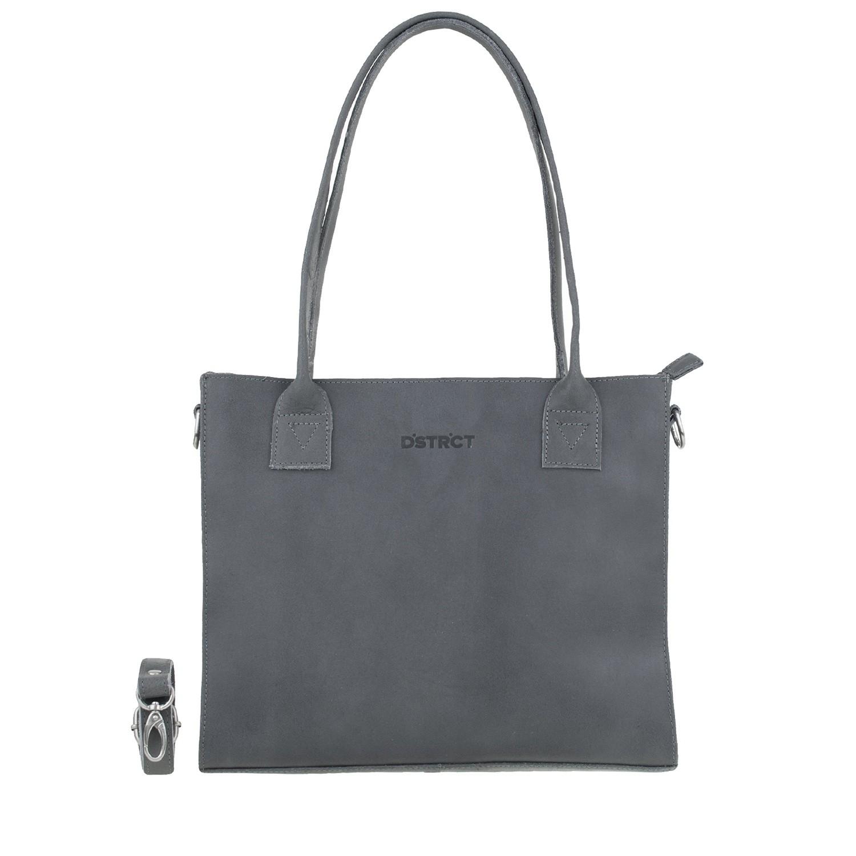 DSTRCT Riverside 012130 Shopper Small Navy Blue