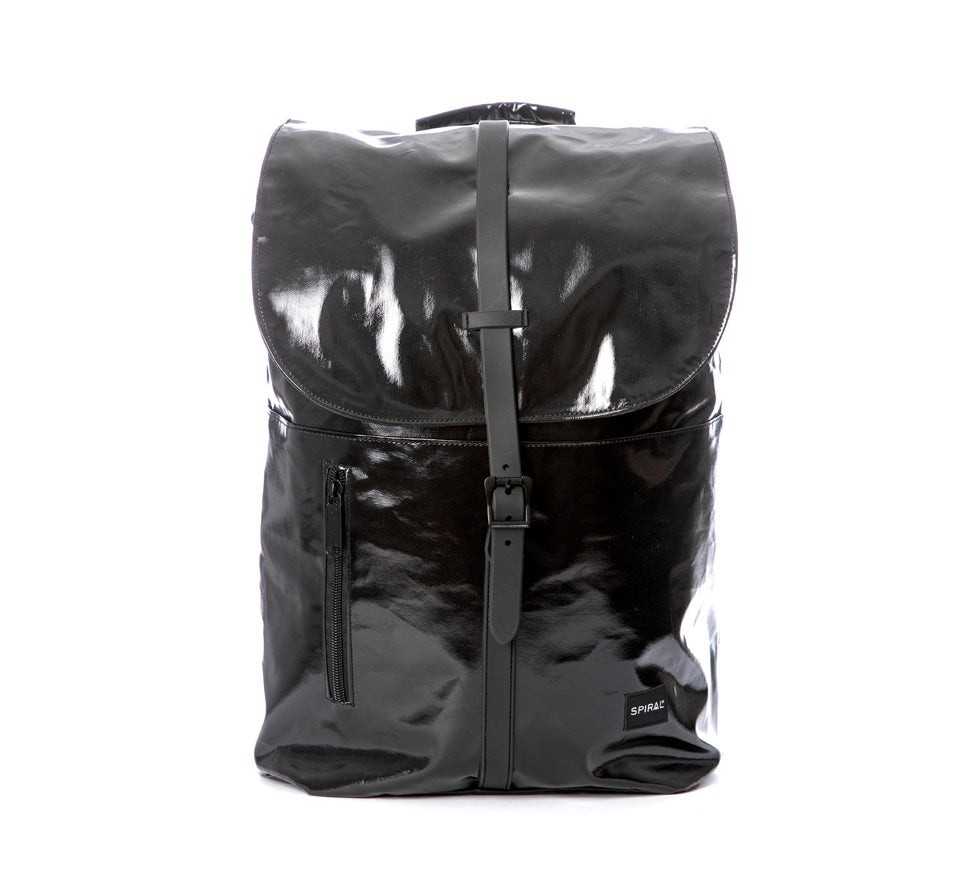 Spiral Tribeca Backpack Tarpaulin Black