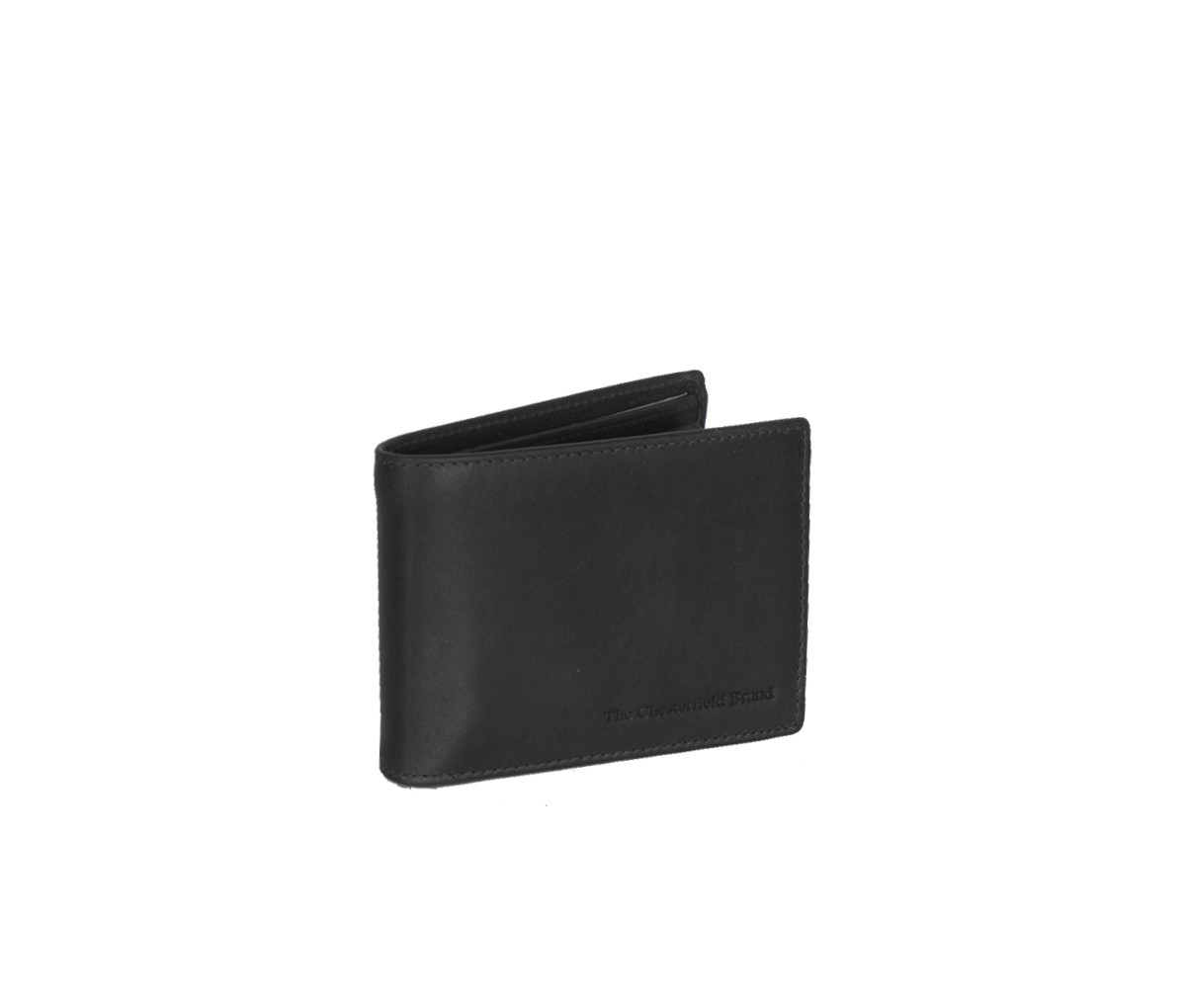 Chesterfield Billfold Breed 'Marvin' C08.0406 Zwart