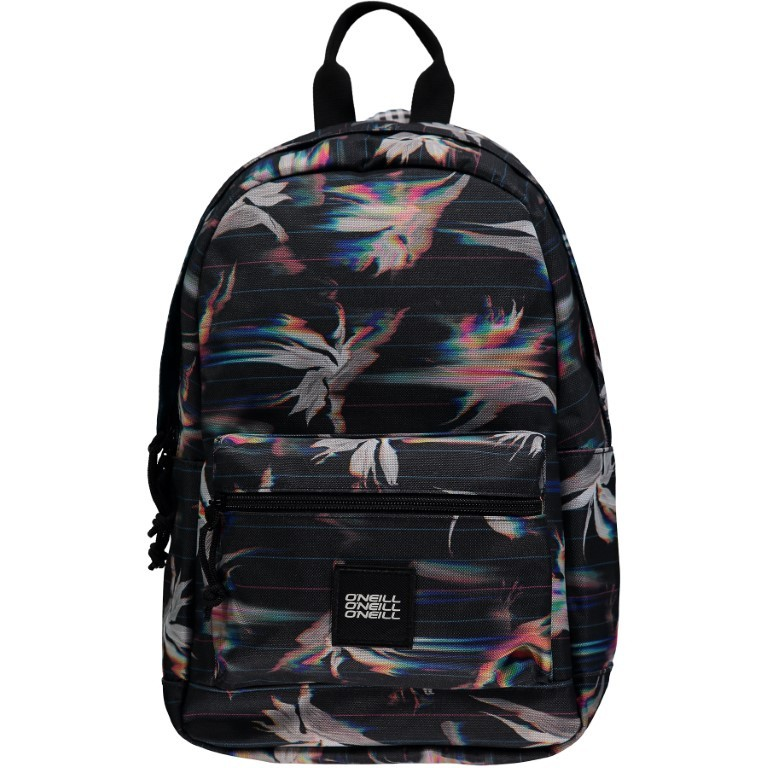 O'Neill Coastline Mini Backpack 9M4030-9940 Black AOP