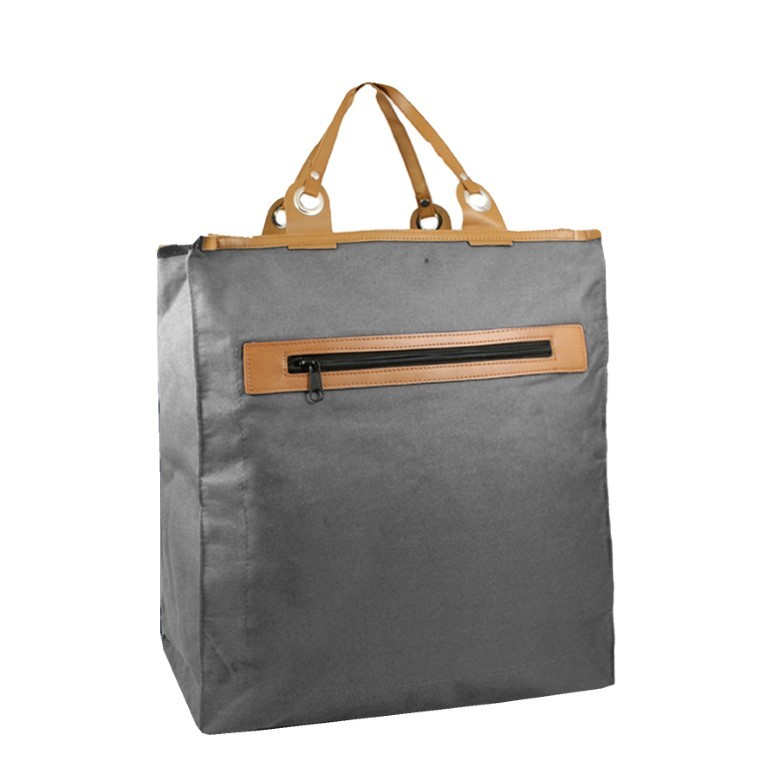 Piace Molto Canvas Boodschappen Shopper 31.1053 Grey
