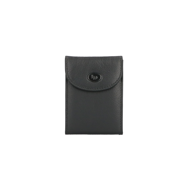Leather Design Creditcard etui KA 1403 Zwart