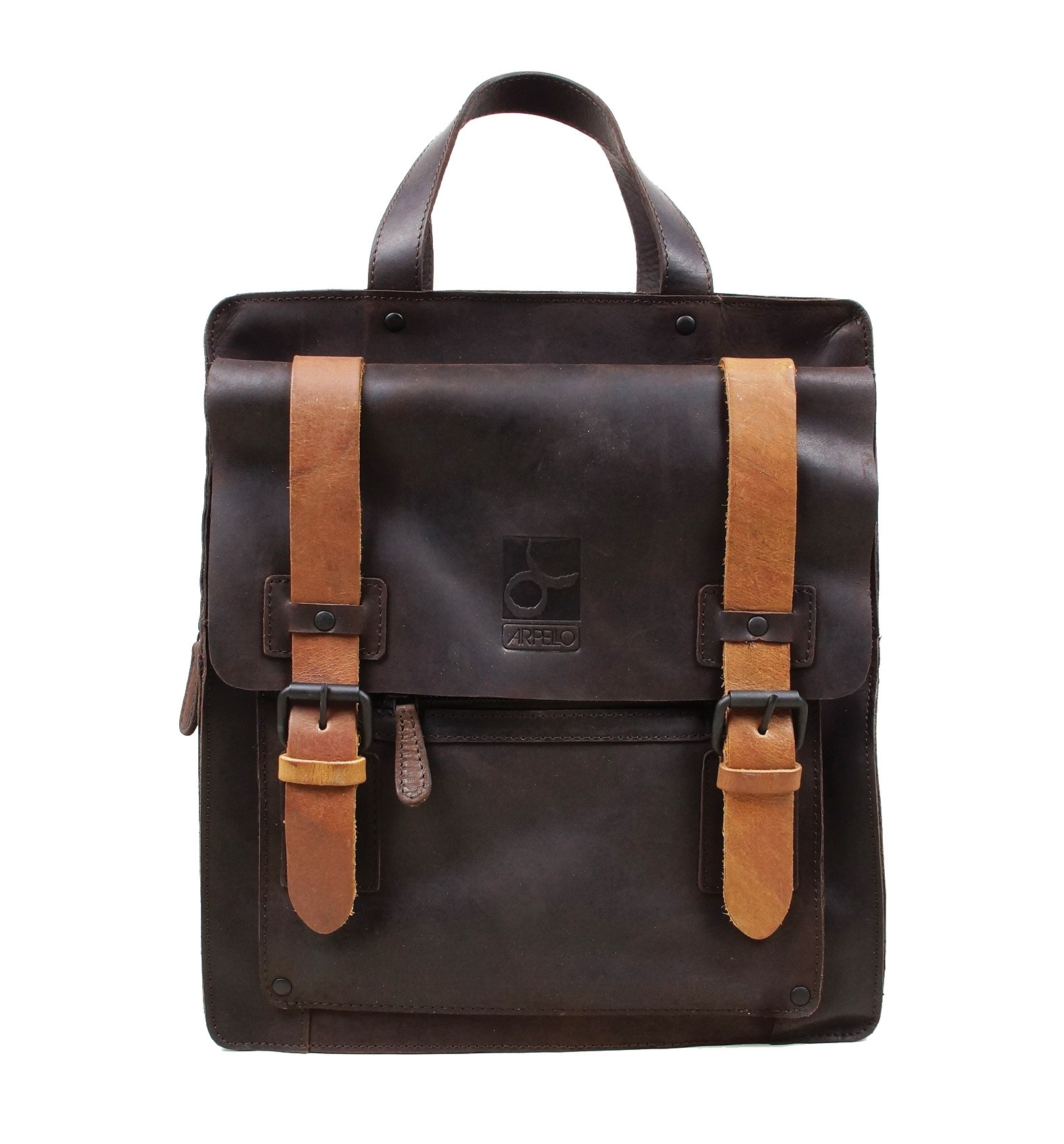Arpello Oil Touch Backpack 6.9904 Brown
