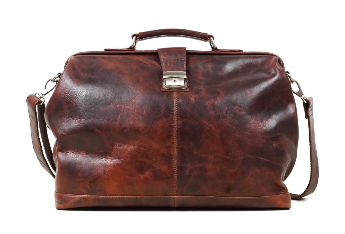 Arpello Old School Doctor Bag 6.1755 Brandy