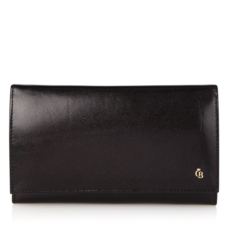 Castelijn & Beerens, 44 2401 Dames portemonnee beugel Zwart