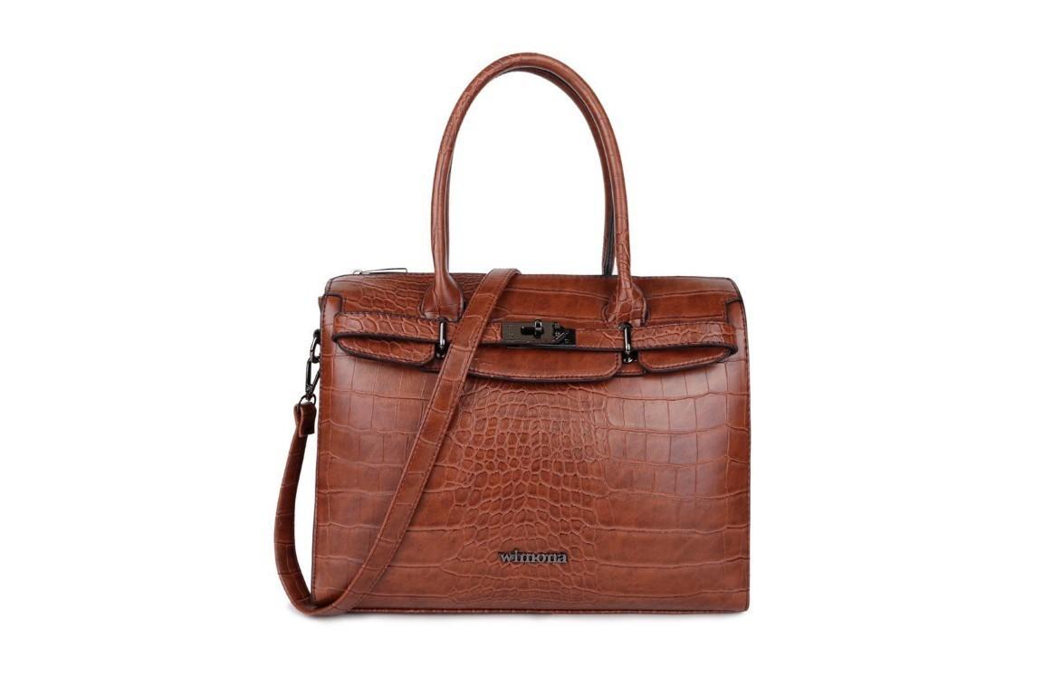 Wimona Bags Liona Handtas 5005 Cognac
