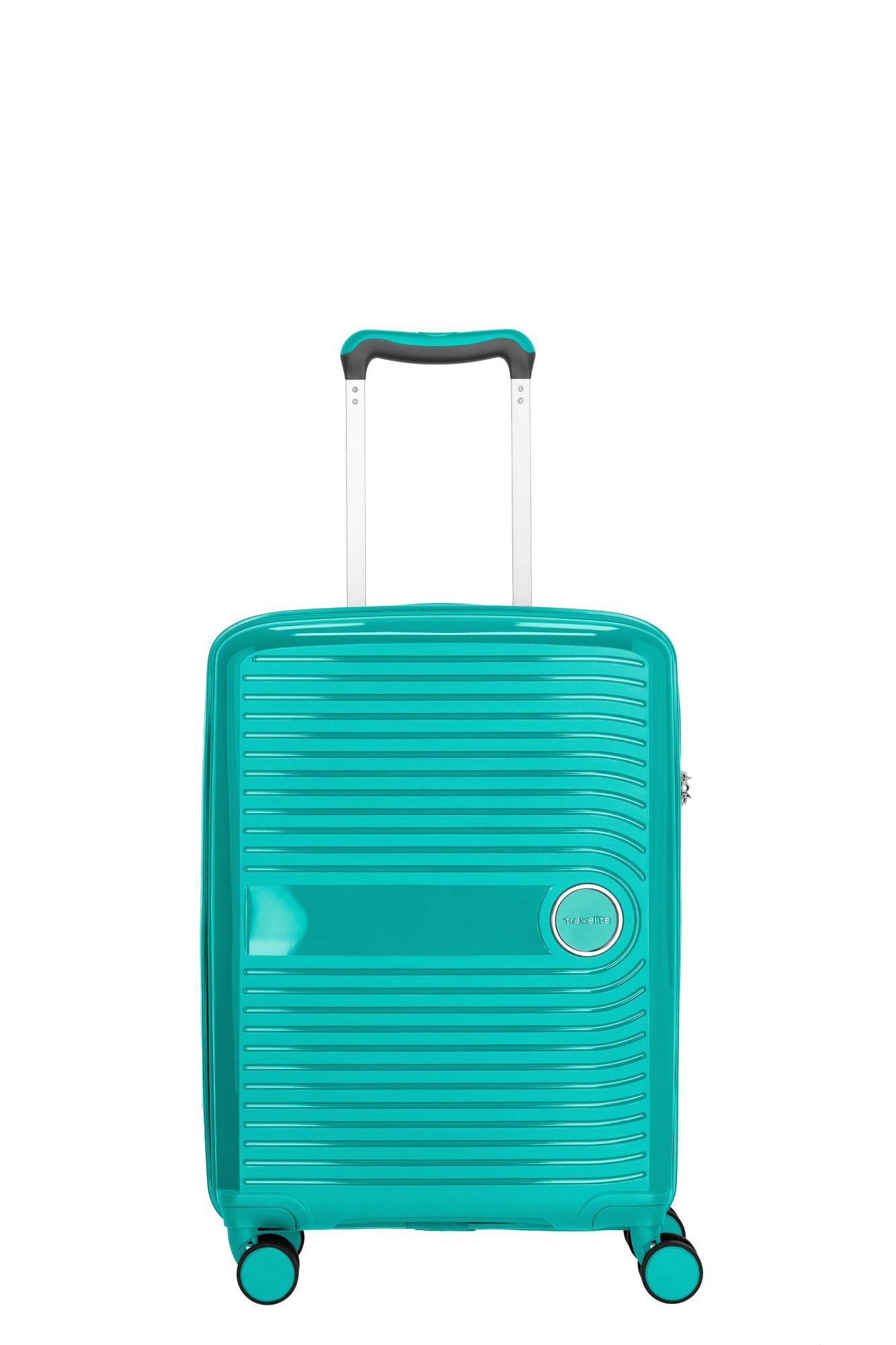 Travelite Ceris 4 Wiel Trolley S Handbagage 075647 Groen