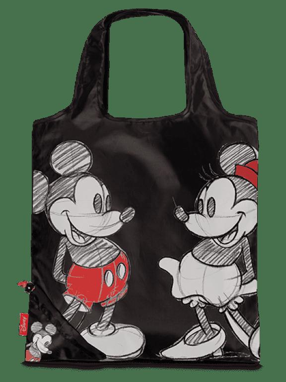 Disney Opvouwbare Boodschappentas 10291 Zwart