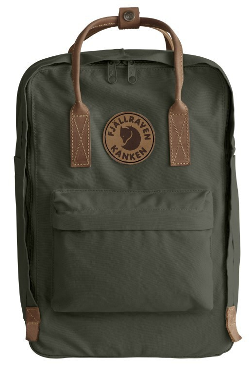 Fjallraven ​​Kanken No. 2 Laptop 15 Backpack F23569 Deep Forest