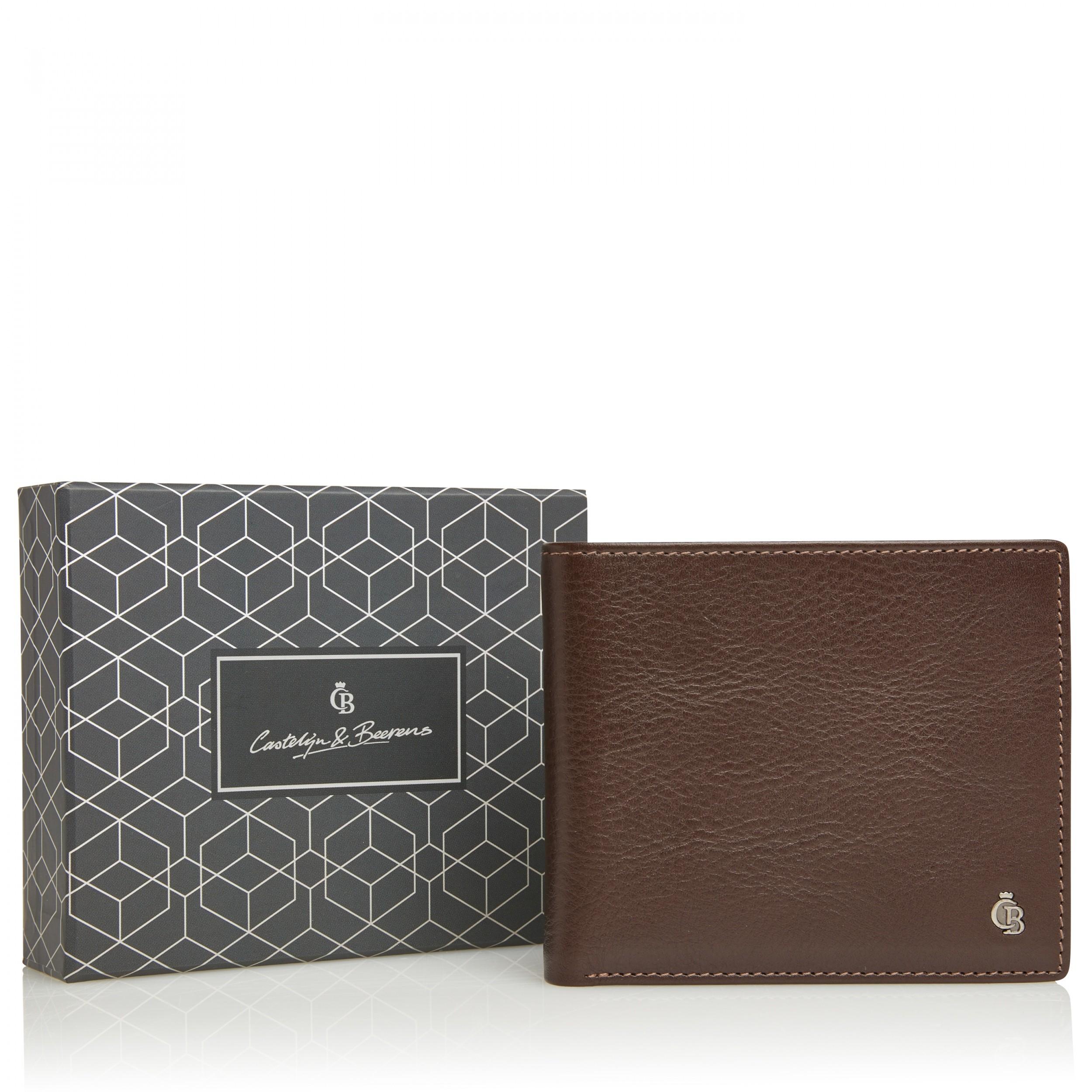 Castelijn & Beerens 80 4196 Giftbox Billfold RFID Mocca