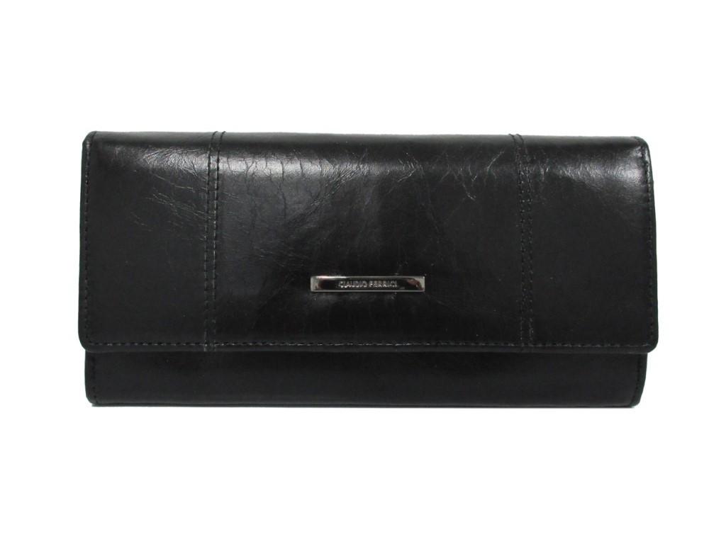 Claudio Ferrici Pelle Vecchia Wallet 22047 Black