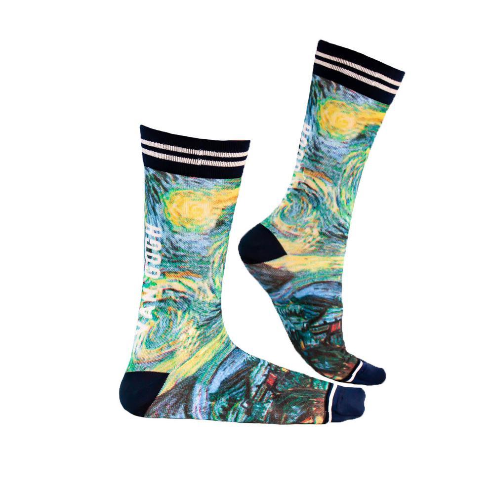Sock My Feet van Gogh