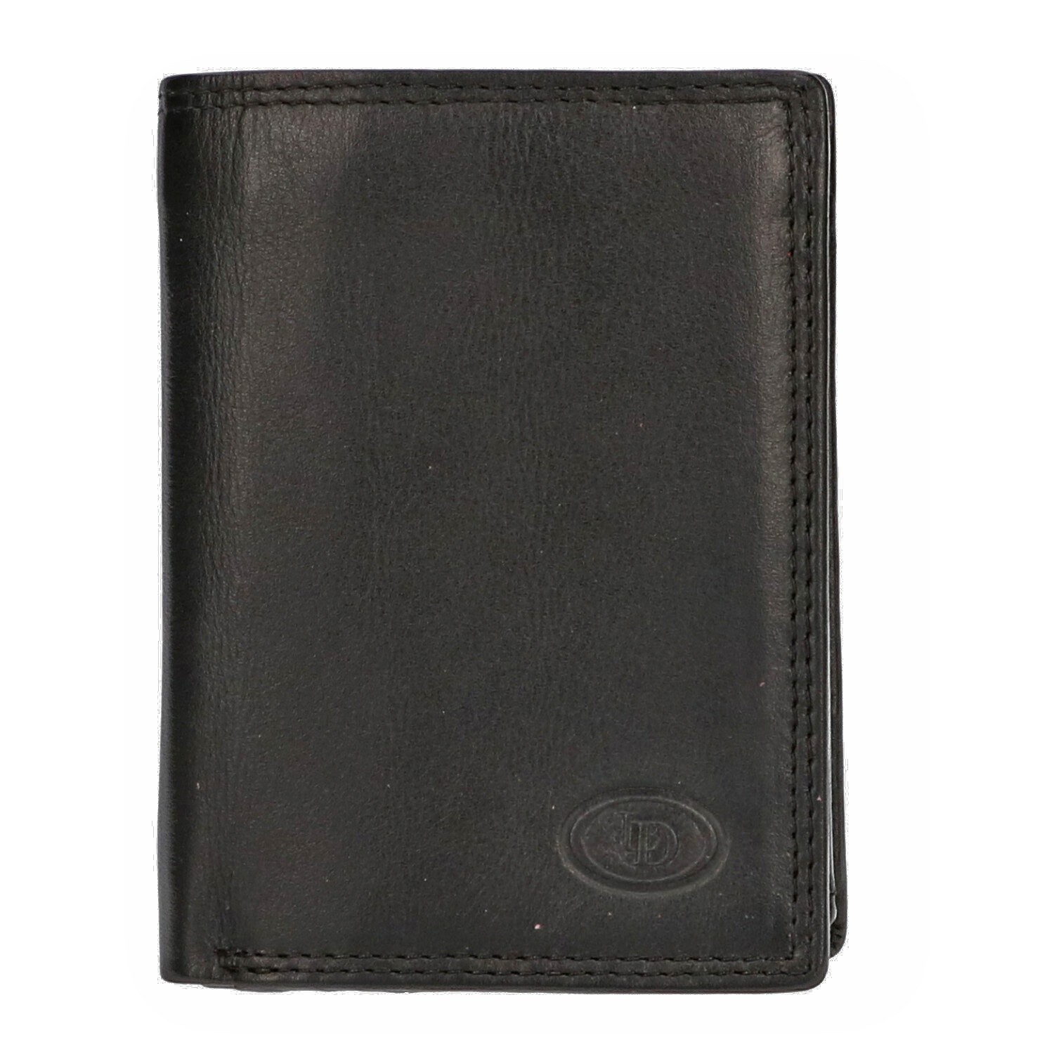 Leather Design Billfold AH 232 Zwart
