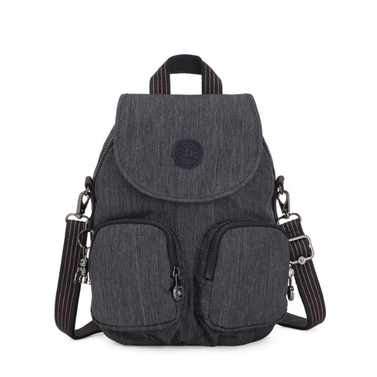 Kipling Firefly Up Rugtas Active Denim
