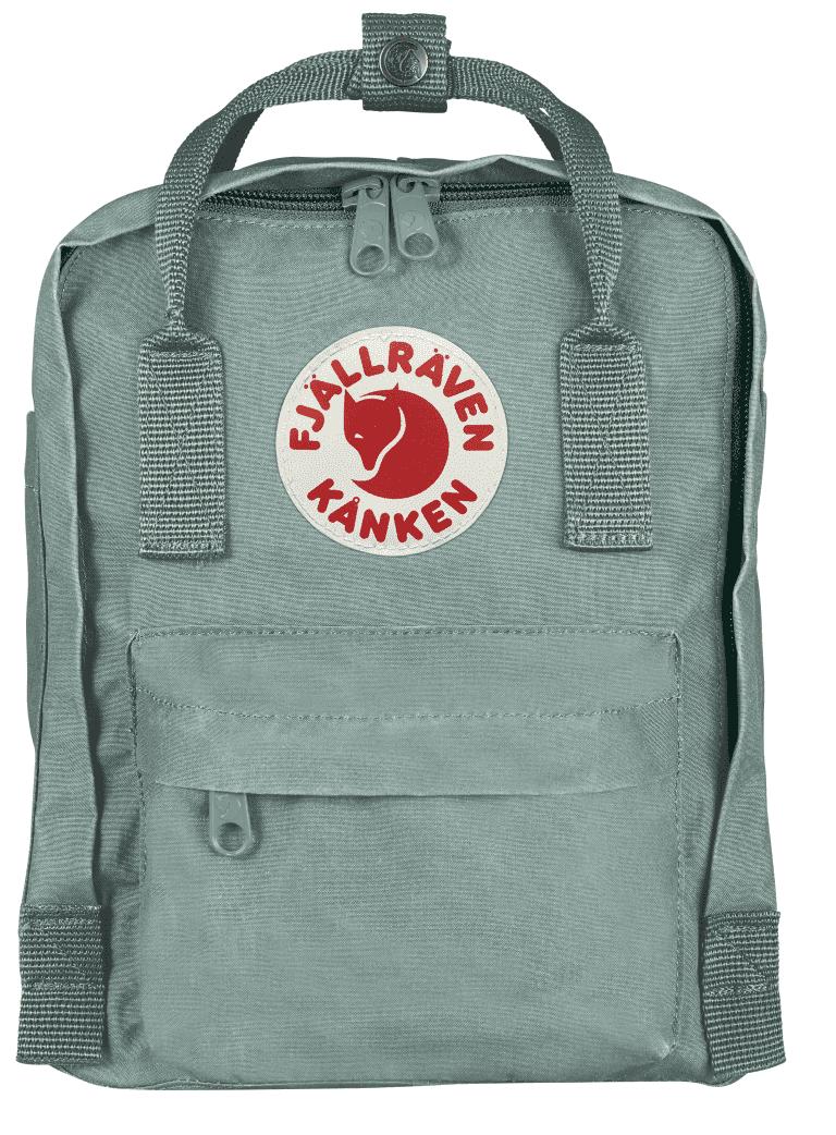 Fjallraven Kanken Mini Backpack F23561 Frost Green