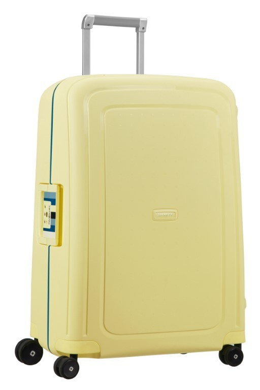 Samsonite S'Cure Spinner 69/25 Pastel Yellow Stripes