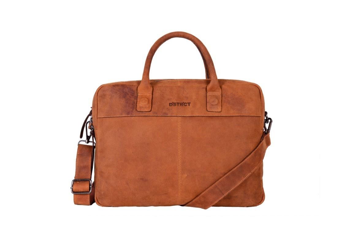 DSTRCT Business Bag 076520 Cognac