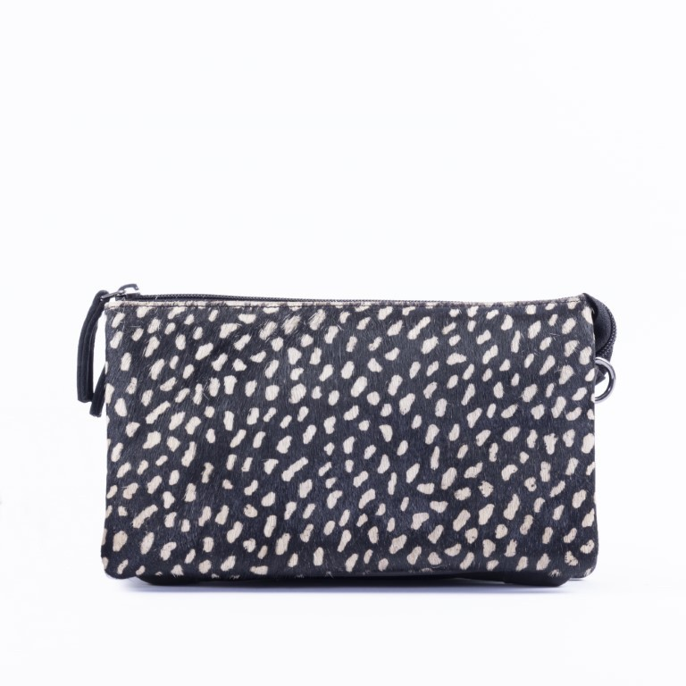 DSTRCT Dames Crossbody 157890 Black Dots Reversed