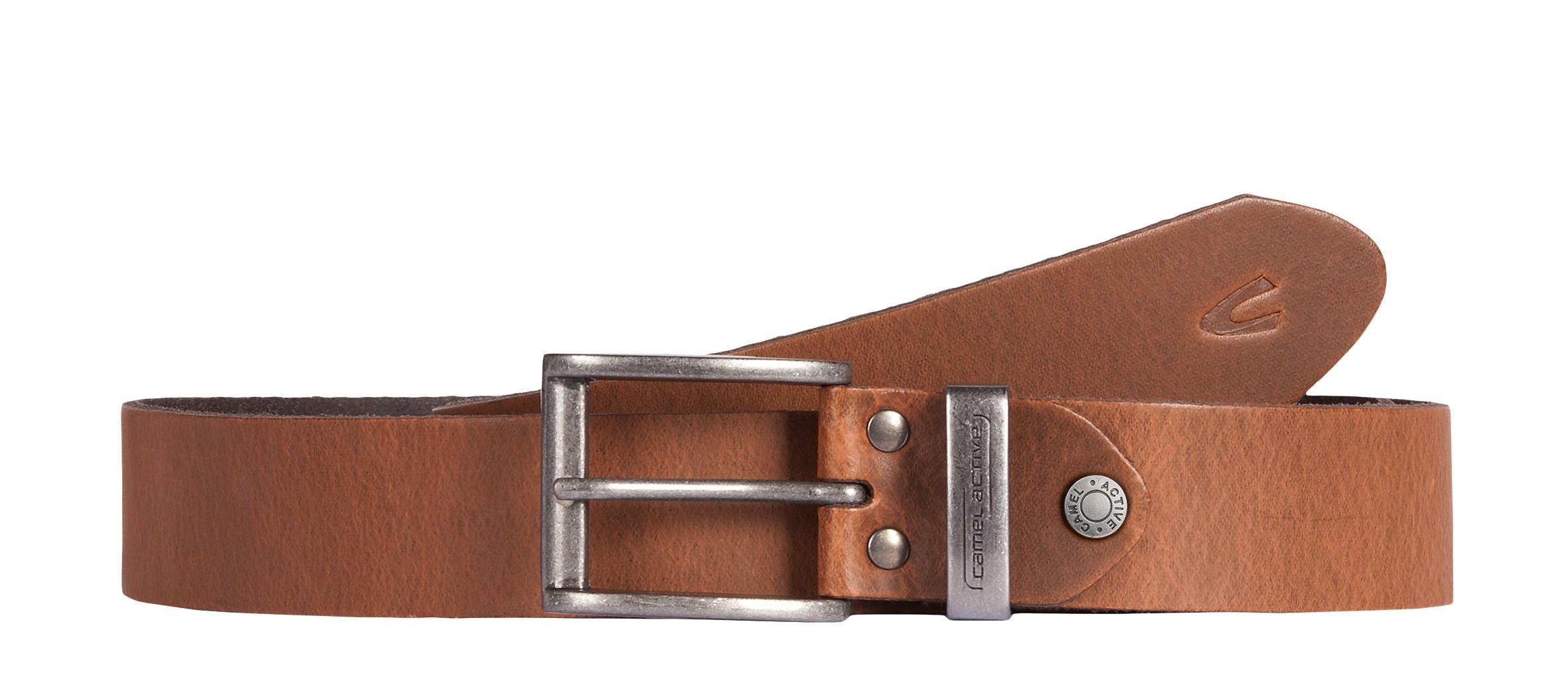 Camel Active Belt 3.5 cm 101-115 Cognac