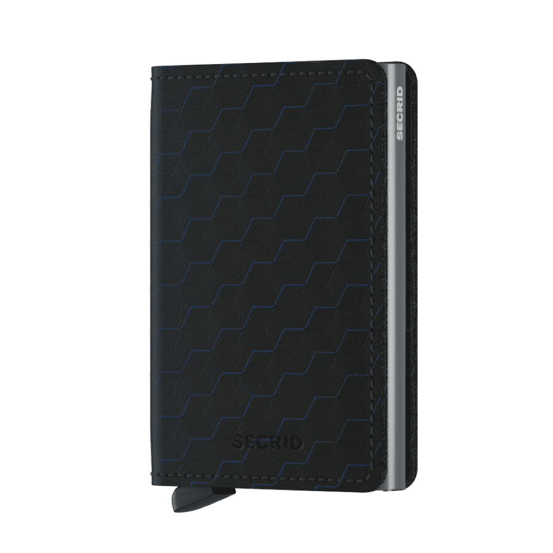 Secrid Slimwallet Optical Black-Titanium