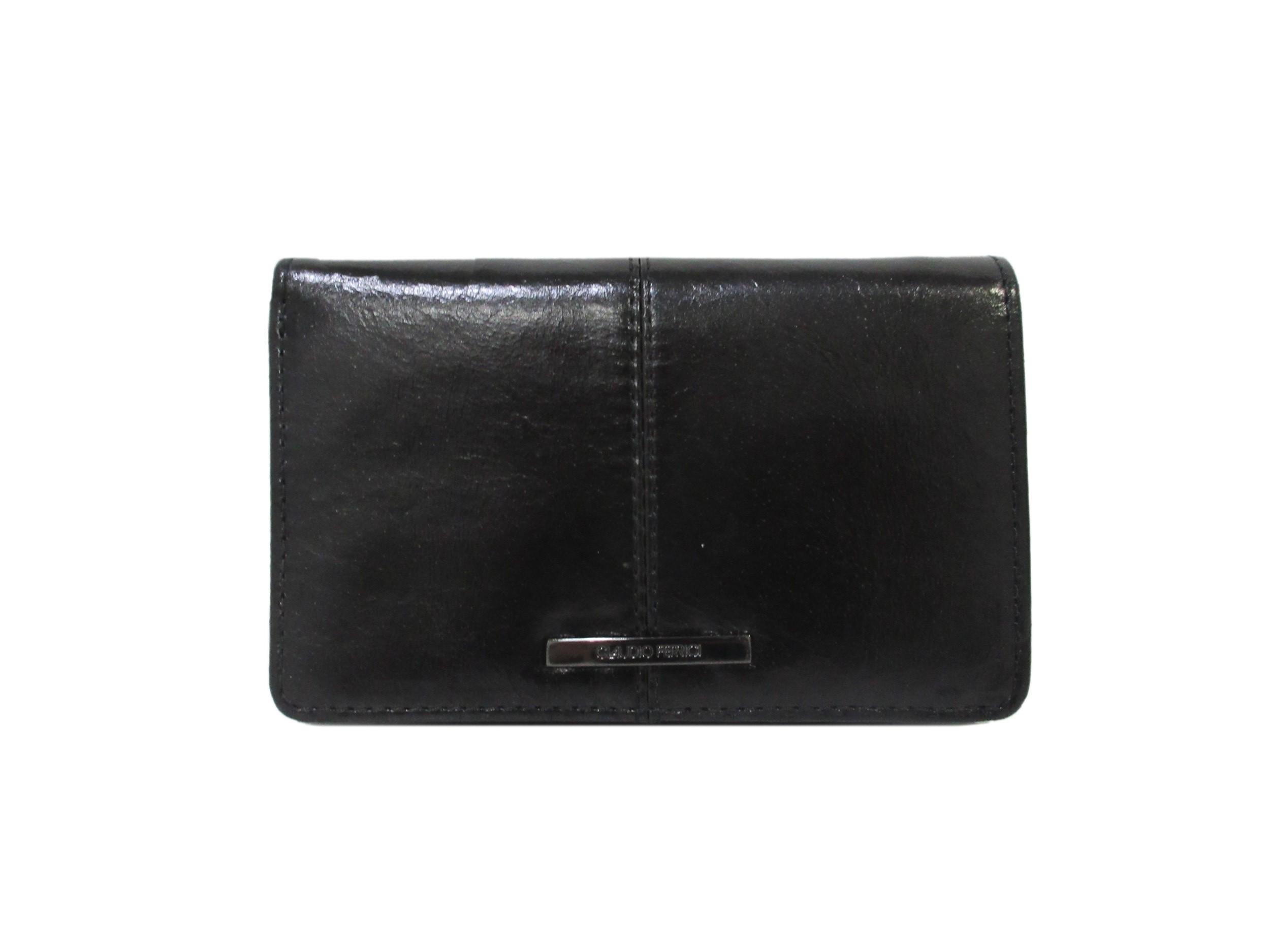Claudio Ferrici Pelle Vecchia Wallet 22902 Black