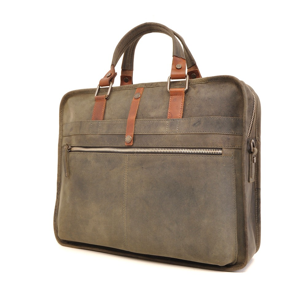 Barbarossa Ruvido 826-129 Single Section Businessbag Military