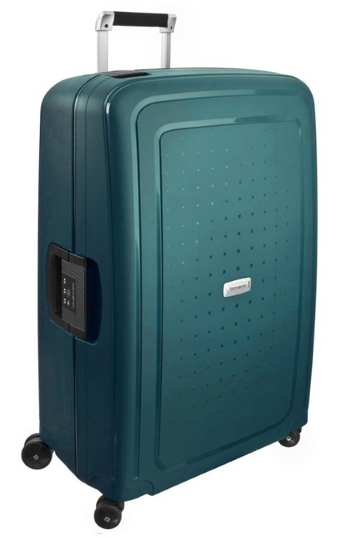 Samsonite S'Cure DLX Spinner 75/28 Metallic Green