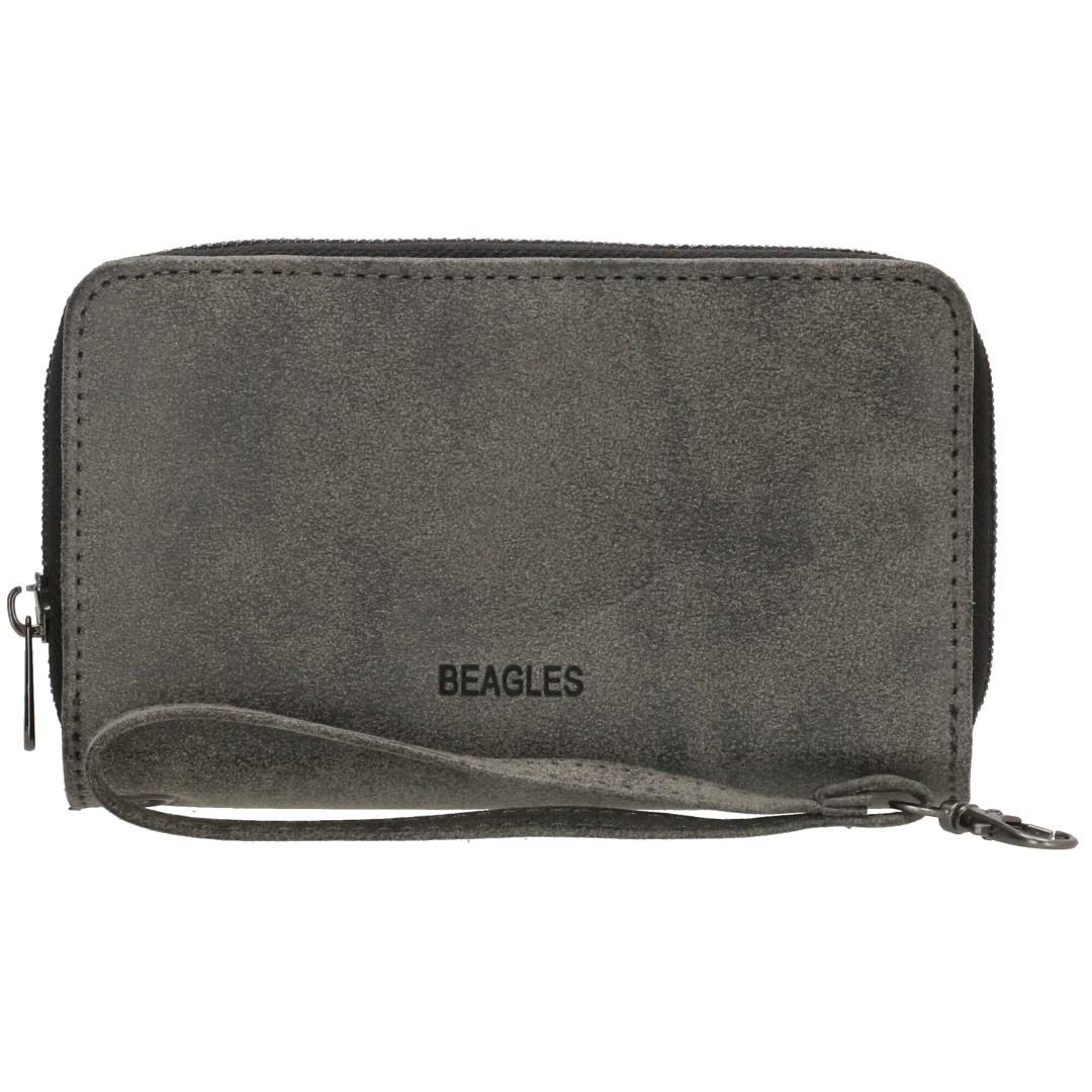 Beagles Meanos Rits Portemonnee 18216 Zwart