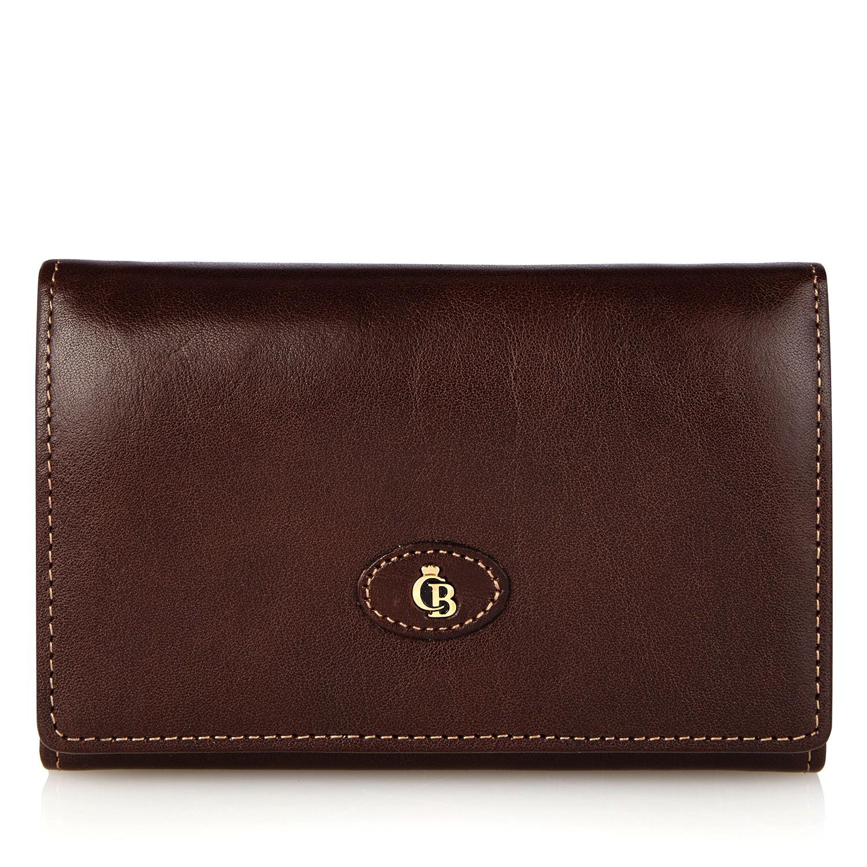 Castelijn & Beerens, 42 2121 Dames portemonnee beugel Mocca