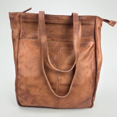 Bear Design Rugtas / Shopper 'Lauryn' CP2025 Cognac