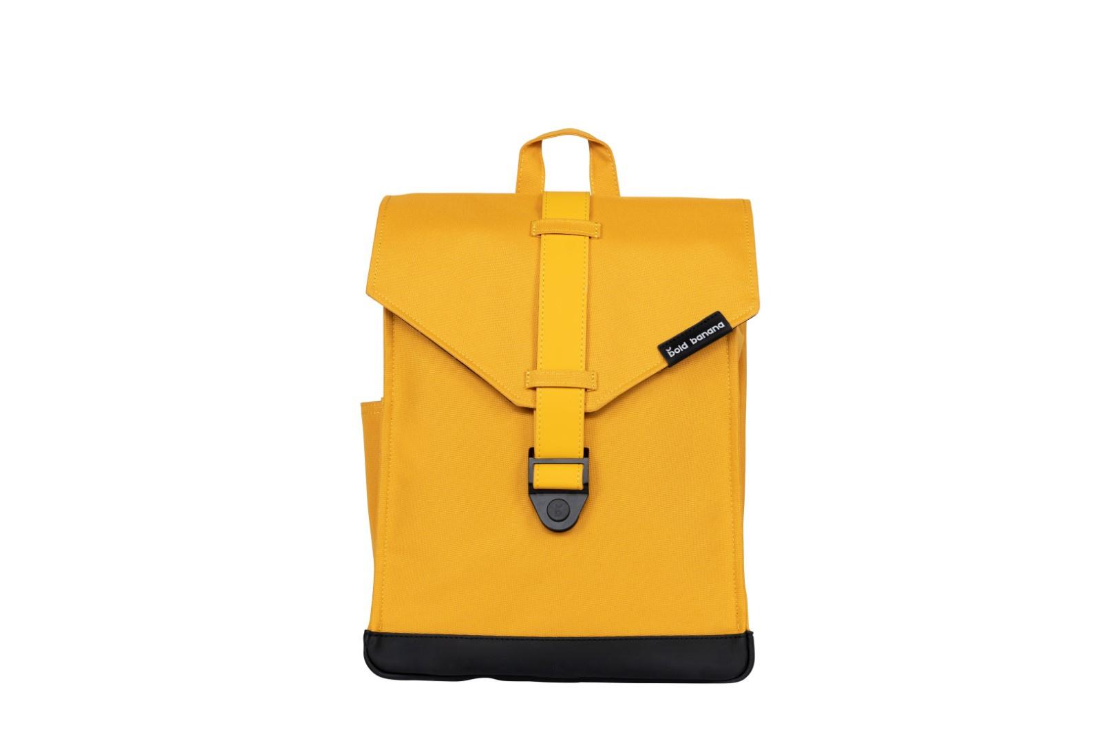 Bold Banana Laptop Backpack Yeller Yellow
