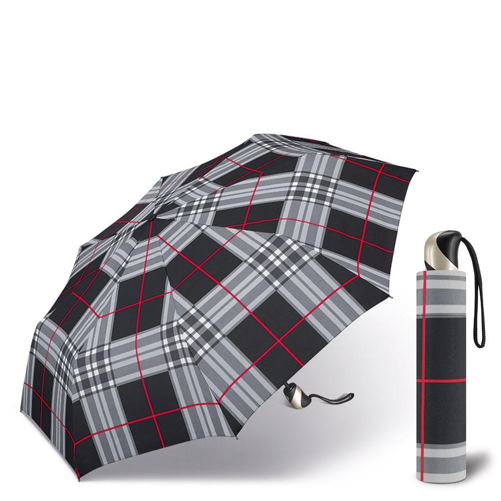 Happy Rain Easymatic Ultra Light Checks Black