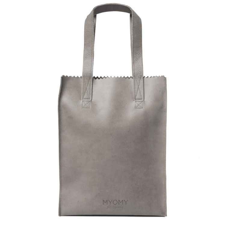 MYOMY MY PAPER BAG Long Handle Zip - Elephant Grey