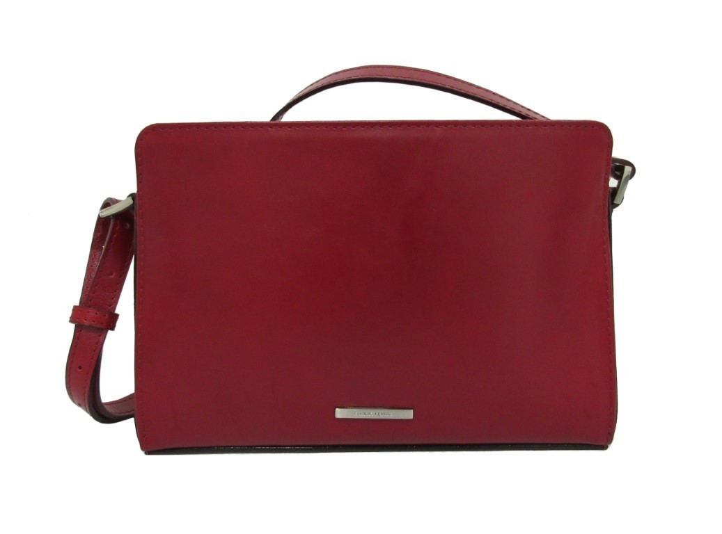 Claudio Ferrici Classico Shoulderbag 18011 Red